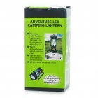 Retractable 1 x 3W P4 LED + 8 x LED 3-Mode Bivouac Camping Lantern Light w/ Strap (3 x AA)