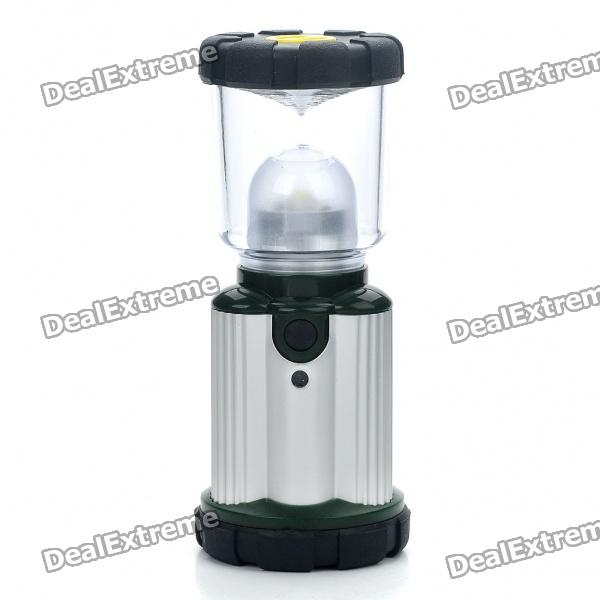 3W 1-LED 2-Mode Bivouac Hiking Camping Lantern Light w/ Carabiner (3 x AA)