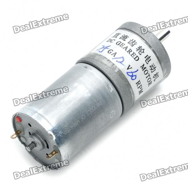 High Torque 60rpm 12v Dc Geared Motor Free Shipping