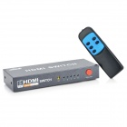 6-Port 1080P HDMI Switcher with Remote Controller (5-IN/1-OUT)