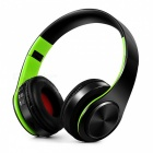 Bluetooth Wireless Stereo Sport Headphone with Mic - Black, Green