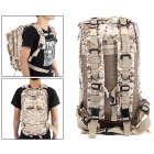 25L Unisex Military Army Tactical Backpack - Desert Digital Camouflage