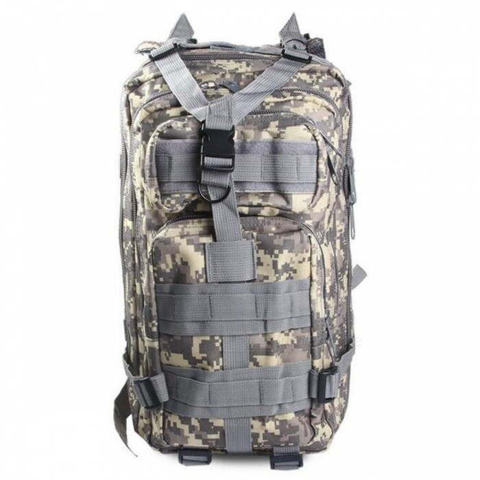 25L Unisex Outdoor Military Army Tactical Backpack - ACU CamouflageForm  ColorACUBrandOthers,Others,N/AModel150756001Quantity1 pieceMaterialOxford FabricTypeHiking &amp; CampingGear Capacity25 LCapacity Range20L~40LFrame TypeExternalRaincover includedYesBest UseClimbing,Family &amp; car camping,Mountaineering,Travel,CyclingPacking List1 x Backpack<br>