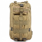 25L Unisex Outdoor Military Army Tactical Backpack - Khaki