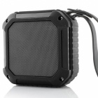 Bluetooth Speaker 10 Hour Playtime Mini Outdoor Water Resistant - Gray