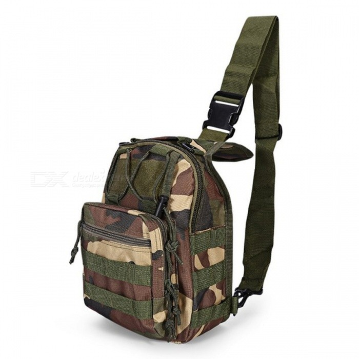 Durable Shoulder Bag, Military Tactical Backpack - CP CamouflageForm  ColorMultiCamBrandOthers,Others,N/AModelN/AQuantity1 pieceMaterial600D Oxford FabricTypeHiking &amp; CampingGear Capacity5 LCapacity Range0L~20LRaincover includedNoBest UseRunning,Climbing,Family &amp; car camping,Mountaineering,Travel,CyclingTypeTactical BackpacksPacking List1 x Bag<br>