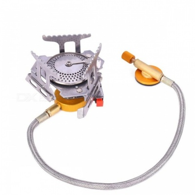 Portable Outdoor Folding Gas Stove, Camping Gas Burner