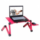 Multi-Functional Ergonomic Laptop Desktop Stand with Mouse Pad - Pink
