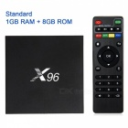 X96 Android 6.0 Amlogic S905X Smart TV Box - Black (EU Plug)
