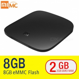 Original Xiaomi MI 4K Ultra HD Smart TV Box 3 with 2GB, 8GB (EU Plug)