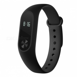 Global Version Xiaomi Mi Band 2 Smart Bracelet Watch Wristband - Black