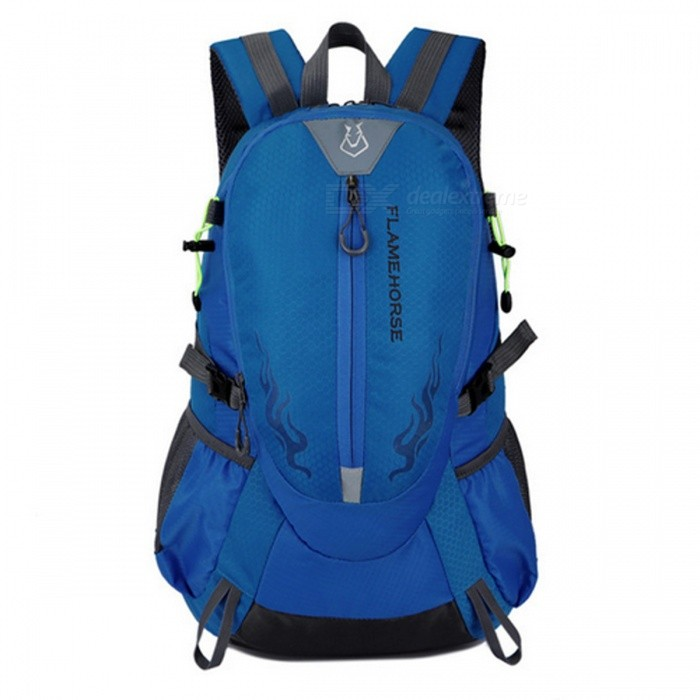 25L Unisex Waterproof Nylon Backpack for Outdoor Hiking - Blue - Free  Shipping - DealExtreme 4398f2366720e