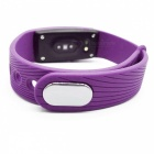ID107 Bluetooth 4.0 Smart Armband med Heart Rate Monitor - Lila