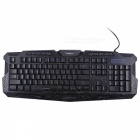 M200 Russian Version Backlight LED USB Wired Pro Gaming Keyboard