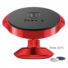 Baseus 360 Degree Magnetic Car Dashboard Vertical Phone Holder - Red
