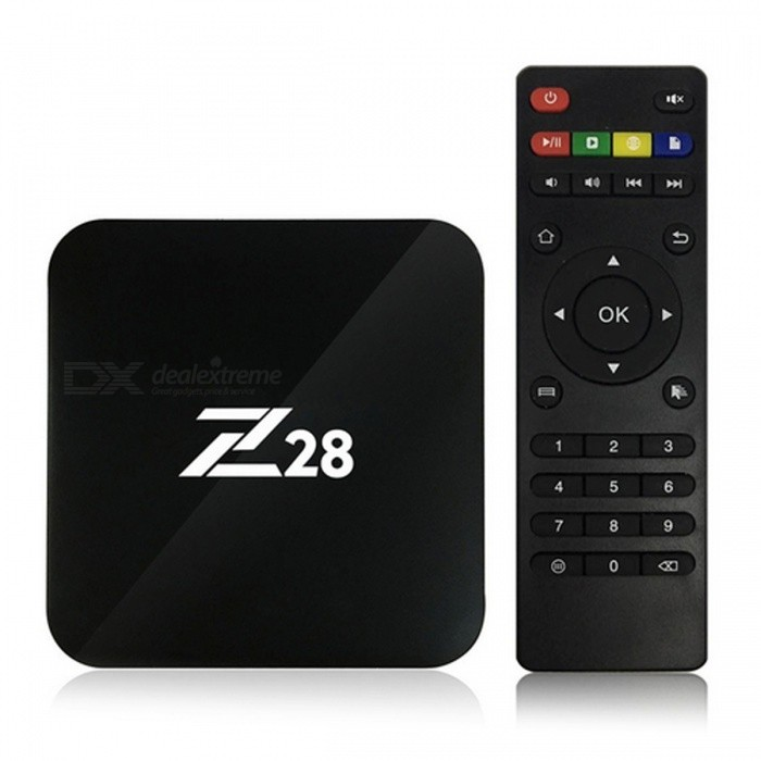 R39 Android 6.0 RK3229 Quad-Core UHD 4K Smart TV Box - Black (US Plug)Smart TV Players<br>Form  ColorBlackBuilt-in Memory / RAM1GBStorage8GBPower AdapterUS PlugModelR39Quantity1 pieceMaterialPlasticShade Of ColorBlackOperating SystemAndroid 6.0ChipsetRK3229 Quad-Core 32bitCPUOthers,N/AProcessor FrequencyRK3229 Quad-Core 32bitGPUMali-400Menu LanguageEnglish,Others,Multi-languageRAM/Memory TypeDDR3 SDRAMMax Extended Capacity32GBSupports Card TypeSDWi-Fi802.11 b/g /n, 2.4G WiFiBluetooth VersionNo3G FunctionNoWireless Keyboard/Mouse802.11 b/g /n, 2.4G WiFiAudio FormatsOthers,MP3, AAC, WMA, RM, FLAC, OGGVideo FormatsOthers,MKV, WMV / VC-1 SP / MP / AP, MPG, MPEG, dat, avi, mov, iso, mp4, rm, MPEG-1, MPEG-2, MPEG-4, H.263, H.264, H.265, AVS, VC-1, VP9, MVC, realVideo 8/9/10, VP8/9, up to 2160PAudio CodecsOthers,MP3, AAC, WMA, RM, FLAC, OGGVideo CodecsOthers,Support 4K 30fps H.264 and 4K60FPS H.265 Video Decoding, Multi-format. 1080p video decoding. 1080P video decoding including H.264 and VP9Picture FormatsOthers,JPG, JPEG, MJPEG, PNGSubtitle FormatsOthers,/Output Resolution4K3DSupport 3D movie (Image Processing: Support OpenGL ES 1.1/1.2/3.0/3.1, DirectX11.)HDMI2.0Audio Output3.5mmVideo OutputHDMIUSBUSB 2.0Other Interface1* HD 2.0 port (Up to 4Kx2K) 4 * USB port, 1 * SPDIF Coaxial, 1 * SD CARD<br>1 * RJ45, 1 * AV port 1 * Power Input port (5V/2A)Power Supply5V/2APacking List1 x Docooler R39 Smart Android TV box1 x Remote Control1 x HD Cable 1 x Power Adapter 1 x English User Manual<br>
