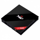 H96 PRO Plus Android 6.0 2 GB 16 GB H.265 4K TV Box - Svart (US Plug)