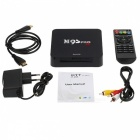 M9S PRO Android Amlogic S905X Quad-Core Smart TV Box - Black (EU Plug)