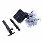 Impermeable 4.8m 20-LED flor flor multi-color luz solar de la secuencia