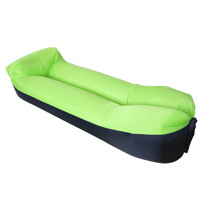 canap gonflable air peek sleeping bag pillow vert. Black Bedroom Furniture Sets. Home Design Ideas