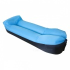 Inflatable Air Lazy Sleeping Bag Pillow Sofa - Blue