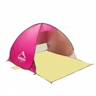 Pop Up Quick Automatic Open Beach Tent for 1-2 Persons - Red