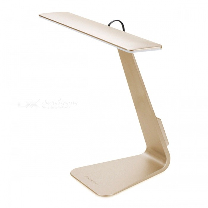 2.5W 200LM USB 3-Level Dimming Touch Reading Table Lamp - GoldenTable Lights<br>Form  ColorGoldenPower AdapterUSBMaterialABSQuantity1 piecePowerOthers,2.5WRated VoltageOthers,DC 5 VColor BINNeutral WhiteDimmableYesColor Temperature12000K,Others,N/AActual Lumens250 lumensBattery TypeOthers,Built in Lithium BatteryPacking List1 x LED Touch Desk Lamp1 x USB Cable1 x User Manual<br>