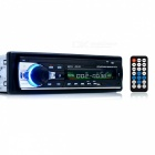 Bluetooth Car Radio Stereo Player with LCD Screen - Black