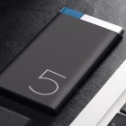 ROCK Slim Design Odin 5000mAh Power Bank w/ Dual Input Ports - Black