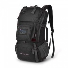 40L Internal Frame Climbing Bag Backpack - Black