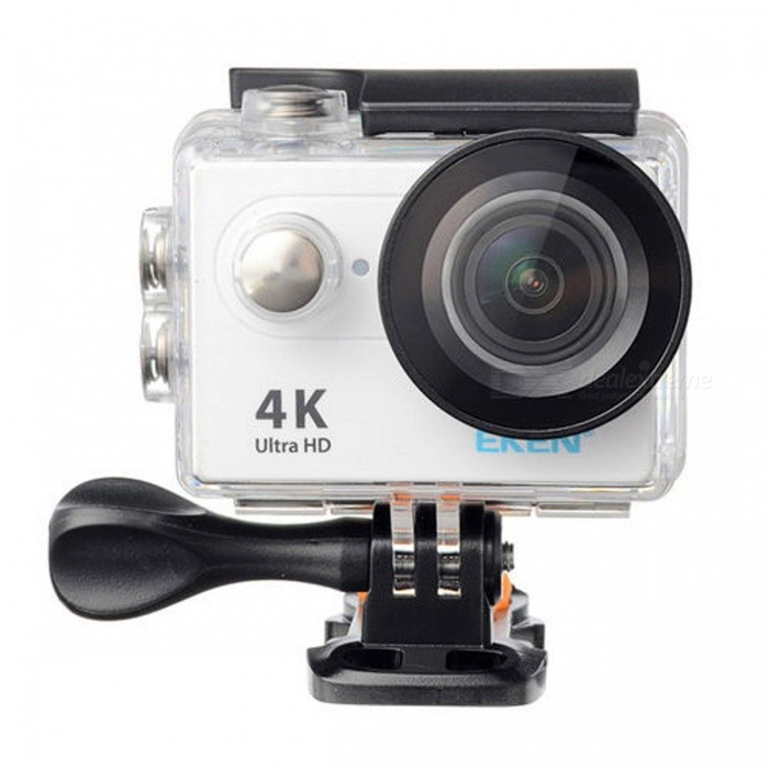 H9 Action Camera Ultra HD 4K WiFi 1080P / 60fps 2.0 LCD-skärm - Vit