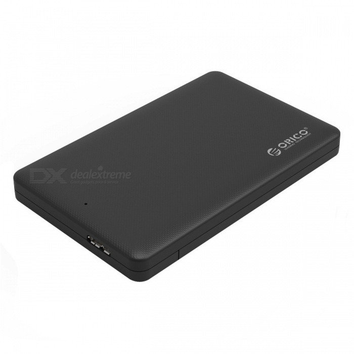 ORICO 2577U3 2.5 USB 3.0 HDD EnclosureHDD Enclosures &amp; Cases<br>Form  ColorBlackModel2577U3Quantity1 pieceMaterialABSForm Factor2.5InterfaceUSB 3.0Powered ByUSBSupports Max. Capacity2 TBMax Sequential Read0Max Sequential Write0Packing List1 x ORICO 2.5 HDD Enclosure1 x USB 3.0 cable<br>