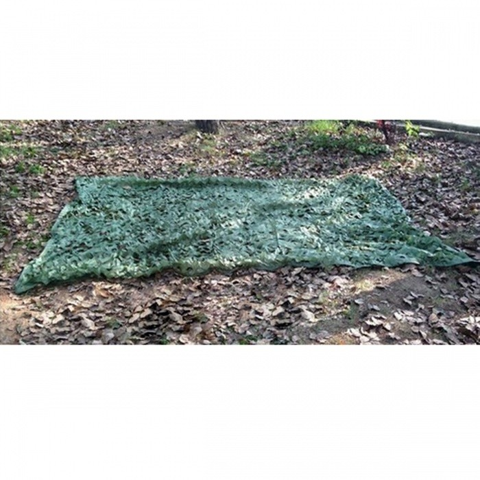 2 x 3M Camouflage Net for Hunting Camping Military PhotographyForm  ColorArmy GreenModelN/AQuantity1 pieceMaterialOxford polyester clothPacking List1 x 3*2m Camouflage net<br>