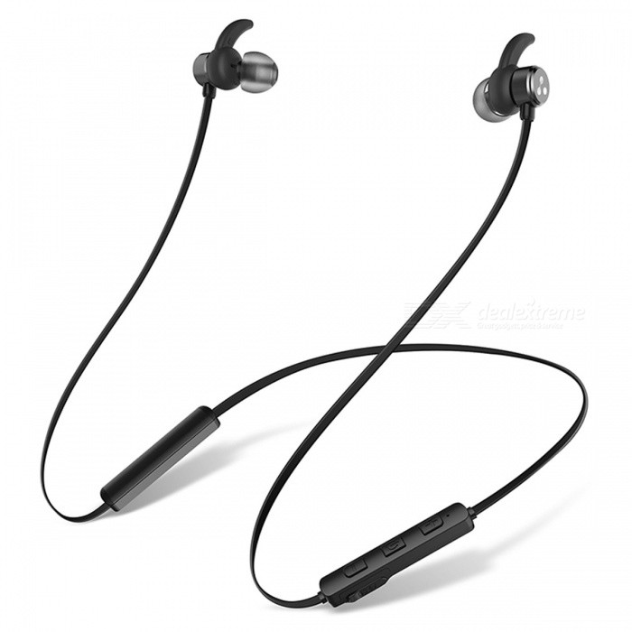 SYLLABLE D3X Bluetooth Earphone Stereo Magnetic Wireless HeadphonesHeadphones<br>Form  ColorBlackBrandSyllableModelD3XMaterialPlastic + MetalQuantity1 setConnectionBluetoothBluetooth VersionBluetooth V4.2Operating Range10MConnects Two Phones SimultaneouslyYesHeadphone StyleBilateral,Earbud,In-EarWaterproof LevelOthers,SweatproofApplicable ProductsUniversalHeadphone FeaturesPhone Control,Magnetic Adsorption,Noise-Canceling,Volume Control,With Microphone,Lightweight,Portable,For Sports &amp; ExerciseSupport Memory CardNoSupport Apt-XNoSensitivity122±3dBFrequency Response20-20000HzImpedance32 ohmStandby Time5 daysMusic Play Time4 hourPacking List1 x Earphone<br>