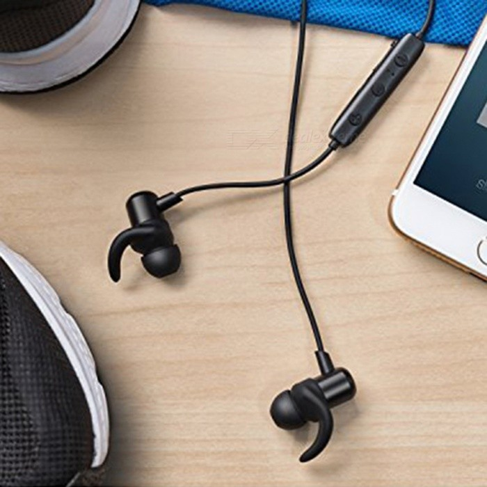 Earbuds black and gold - anker slim earbuds