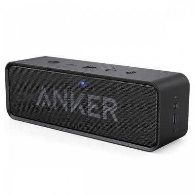 Anker SoundCore Dual-Driver Portable Wireless Bluetooth Speaker Black