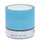 LED Portable Mini Bluetooth Speakers Wireless Hands Free - Blue