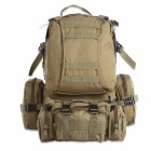 Outdoor Backpack 50L Tactical Sport Bag for Climbing Hiking - Khaki