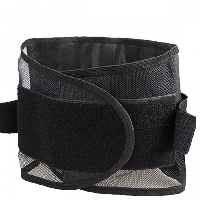 Four Steels Plate Protection Back Waist Support Belt - Black (XL)Form  ColorBlack-XLModelXLMaterialComposite MaterialQuantity1 pieceShade Of ColorBlackDisplayNOControl ModeNOTarget PositionLumbarPhysical therapy functionBraces &amp; SupportsPower SupplyOthers,NoPower AdapterWithout Power AdapterPacking List1 x Back Support Lumbar Brace Belt<br>