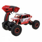 RC Car 4WD 2.4GHz Rock Crawlers Rally Climbing Car - Red