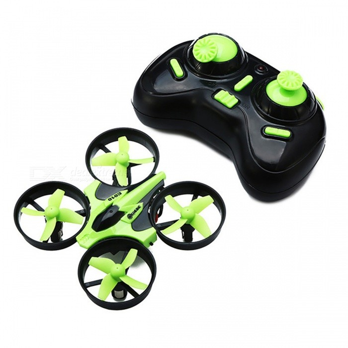Mini 2.4G 4CH 6-Axis 3D RC Quadcopter with Headless Mode - GreenR/C Airplanes&amp;Quadcopters<br>Form  ColorGreenModelN/AMaterialPlastic, MetalQuantity1 setShade Of ColorGreenGyroscopeYesChannels Quanlity4 channelFunctionOthers,N/ARemote TypeRadio ControlRemote control frequency2.4GHzRemote Control Range60 mSuitable Age 8-11 years,12-15 yearsCameraNoLamp YesBattery TypeLi-ion batteryBattery Capacity150 mAhCharging Time30 ~ 50 minutesWorking Timeabout 5 minutesRemote Controller Battery TypeAARemote Controller Battery NumberNot includedRemote Control TypeWirelessModelMode 2 (Left Throttle Hand)Packing List1 x Quadcopter 1 x Transmitter1 x Battery1 x USB charging cable1 x Manual4 x Propellers<br>