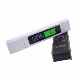 Digital PH Meter Automatic Calibration 0.01 and TDS Tester - White