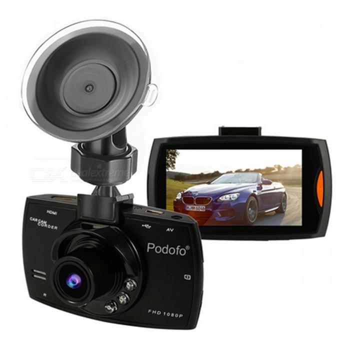 Car DVR Camera G30 Full HD 1080P 140 Degree Dash Cam - Black / 32GB TFCar DVRs<br>Form  ColorBlack - With 32GB CardModel-Quantity1 setMaterialABSChipsetOthers,N/AOther FeaturesOthers,N/AWide Angle120°-149°Camera Lens1Image SensorCMOSCamera Pixel5.0MPWide Angle140°Screen TypeOthers,2.7 LTPS 16:9Screen Size2.7 inchesVideo FormatAVIVideo ResolutionOthers,1920*1080; 1280*720; 848*480; 640*480Still Image ResolutionOthers,N/AMicrophoneYesMotion DetectionYesAuto-Power OnYesLED Qty6IR Night VisionYesG-sensorYesLoop RecordOthersDelay ShutdownYesTime StampYesMax. Capacity32GBStorage ExpansionTFAV InterfaceMini HDMI,OthersData interfaceMini USBWorking Voltage   5 VMenu LanguageOthers,Portuguese / English / Russian / simplified / traditional Chinese / Japanese / French / Spanish / German /ItalianPacking List1 x Car DVR Camera1 x Bracket                            1 x Car Charger1 x USB Cable1 x User Manual<br>