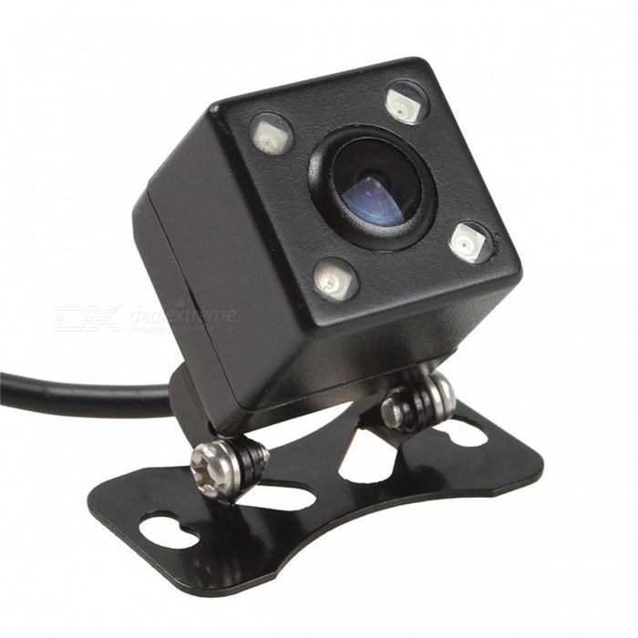 Universal Waterproof Wide Angle Car Back Reverse Rear View CameraRearview Mirrors and Cameras<br>Form  ColorBlackModelN/AQuantity1 pieceMaterialABSCompatible MakeOthers,UniversalCompatible Car ModelUniversalStyleExternalWater-proofYesPacking List1 x Car Rear View Camera<br>