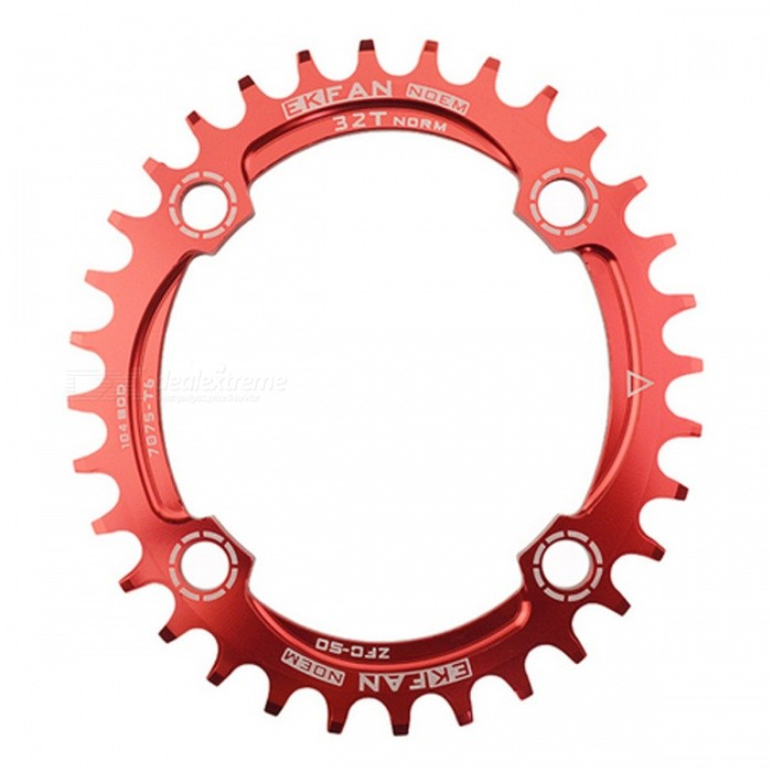 104BCD Oval Bike Chainring Chainwheel - Red (34T)Form  ColorRed(34T)ModelN/AQuantity1 pieceMaterialAluminum AlloyBest UseOthers,Road Bicycles,Mountain BikesSuitable forAdultsTypeOthers,Chain WheelPacking List1 x Chain Wheel<br>