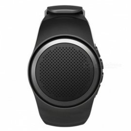 B20 Bluetooth Sports Music Watch Portable Mini Watch Speaker - Black