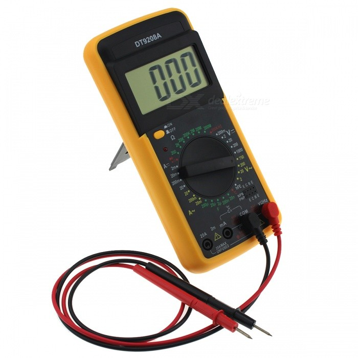 Dt9208a portable digital multimeter free shipping dealextreme dt9208a portable digital multimeter fandeluxe Images