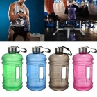 2.2L Large Capacity Water Bottle for Outdoor Sports - Green