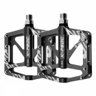 Aluminum Alloy Bicycle Pedal - Black