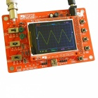 DIY DSO138 Digital Oscilloscope Learning Kit with Case (No Soldered)